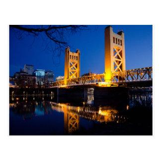 Tower Bridge - Sacramento, CA Postcard