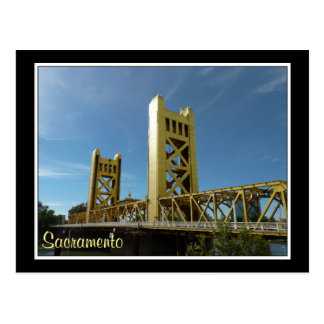 Tower Bridge, Sacramento Postcard