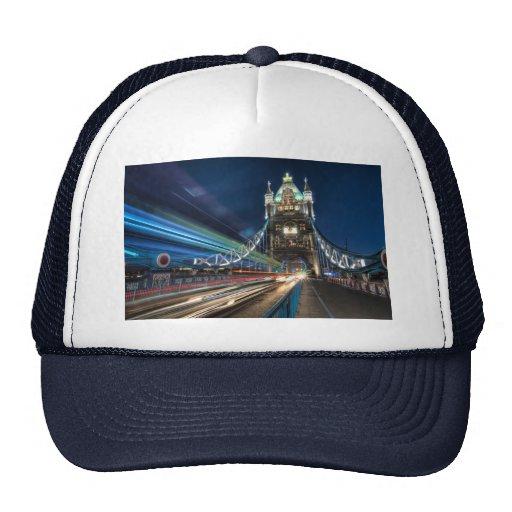 Tower Bridge traffic, London Mesh Hats