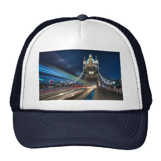 Tower Bridge traffic London Mesh Hats