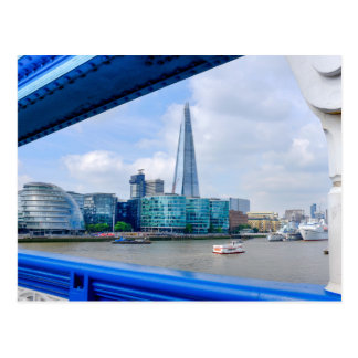 Tower Bridge View, London UK Postcard