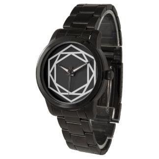 Tower (-) / Custom Oversized Black Bracelet Watch
