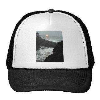 Tower in the Haze Trucker Hat