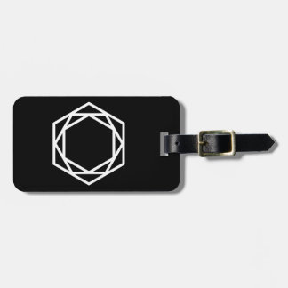 Tower (-) / Luggage Tag w/ leather strap