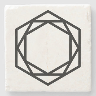 Tower (+) / Marble Stone Coaster