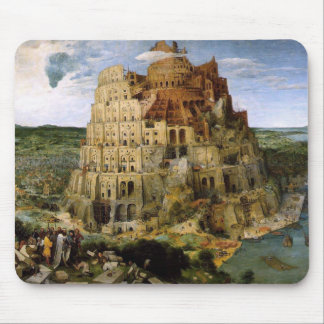 Tower of Babel by Brueghel Mouse Pad