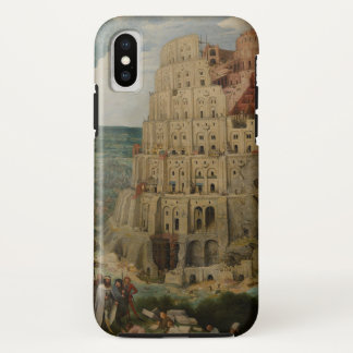 Tower of Babel by Pieter Bruegel the Elder, 1563 Case-Mate iPhone Case
