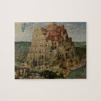 Tower of Babel by Pieter Bruegel the Elder, 1563 Jigsaw Puzzle