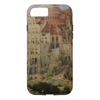 Tower of Babel by Pieter Bruegel the Elder iPhone 7 Case