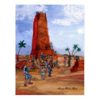 Tower of Babel Postcard