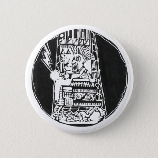 Tower of destruction black - Amazing Mexic Sticker 2 Inch Round Button