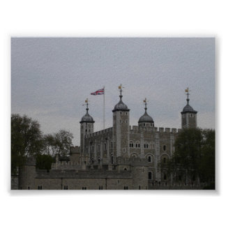 Tower of London Poster