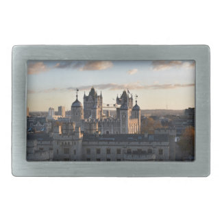 Tower of London Rectangular Belt Buckles