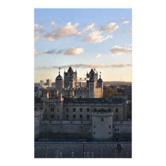 Tower of London Stationery Design