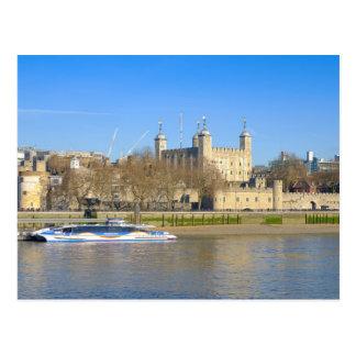 Tower of London, UK Postcard