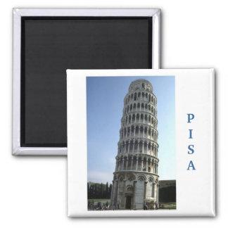 """""""Tower of Pisa, Italy"""" fridge magnet"""