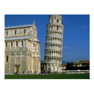 Tower of Pisa Italy Postcard