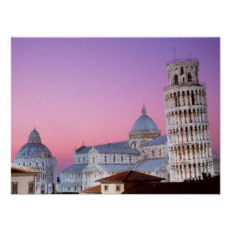 Tower of Pisa Poster