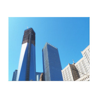 Tower One, World Trade Center April 2012 Stretched Stretched Canvas Print