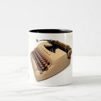 Tower President typewriter Two-Tone Coffee Mug
