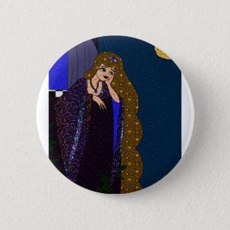 Tower Princess 2 Inch Round Button