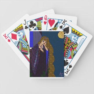 Tower Princess Bicycle Playing Cards
