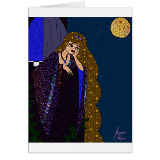 Tower Princess Card
