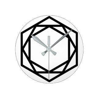 Tower (+) / Round (Medium) Wall Clock