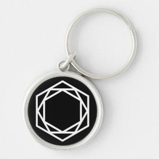 Tower (-) / Small (3.7 cm) Premium Round Key Ring