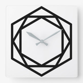 Tower (+) / Square Wall Clock