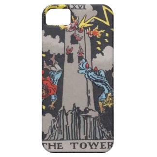 Tower Tarot card image iPhone 5 Cover