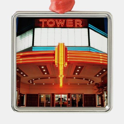 Tower Theater, Sacramento, California Ornament