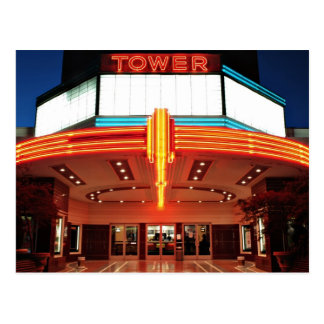 Tower Theater, Sacramento, California Postcard