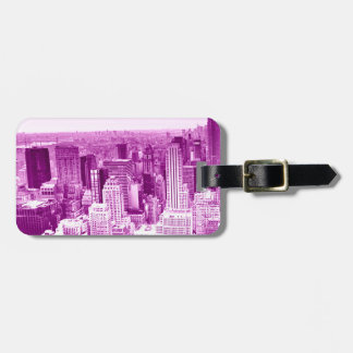 Tower Top View Luggage Tag