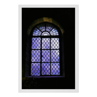 Tower Window Poster