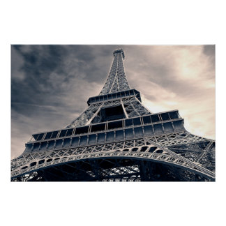 Towering Eiffel Tower Poster