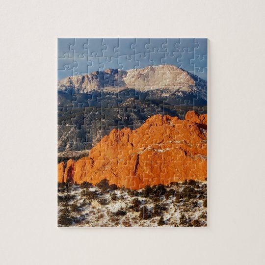 Towering Over the Monolith Jigsaw Puzzle