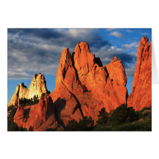 Towering Peaks, Garden of the Gods, Blank Inside Card
