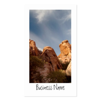 Towers of Red Rock; Promotional Business Card
