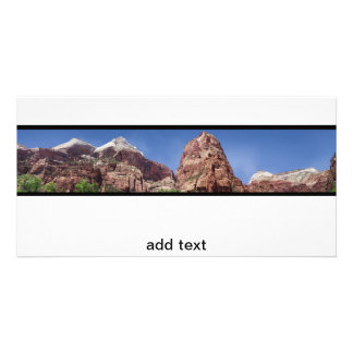 Towers of the Virgin Panoramic Picture Card