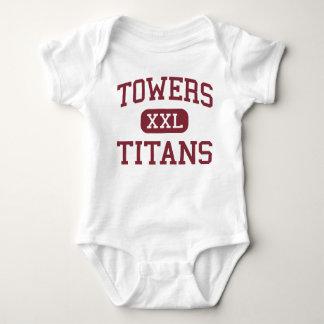 Towers - Titans - High School - Decatur Georgia Baby Bodysuit