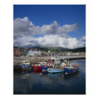 Town and Harbour, Dingle, County Kerry, Poster