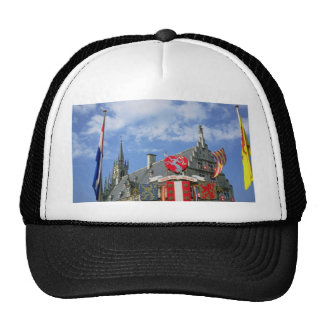 Town and Provincial Coat-of-Arms, Town Hall, Gouda Mesh Hat