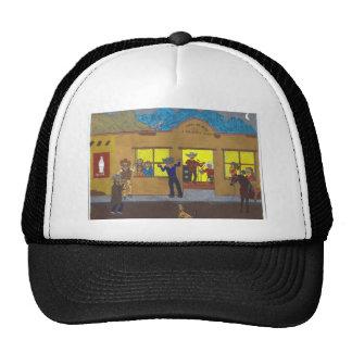 town bar scene trucker hat