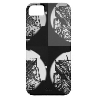 town center 3 POINT perspective black & white iPhone 5 Case