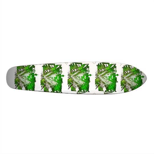 town center 3 POINT perspective special version Skateboard Decks