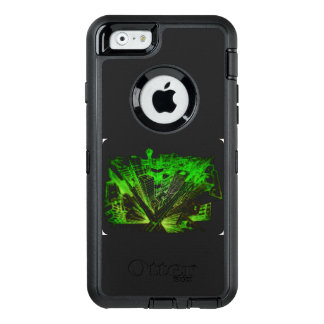 town center in 3 POINT perspective OtterBox Defender iPhone Case