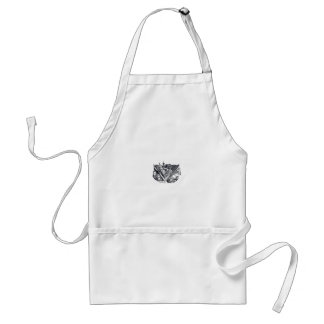 town center in 3 POINT perspective Standard Apron