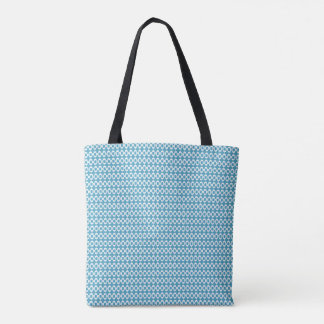 Town-Country-Blue-Shoulder-Bag's-Totes-M-L Tote Bag