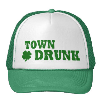 Town Drunk Trucker Hat